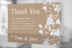 Make Custom Thank You Cards