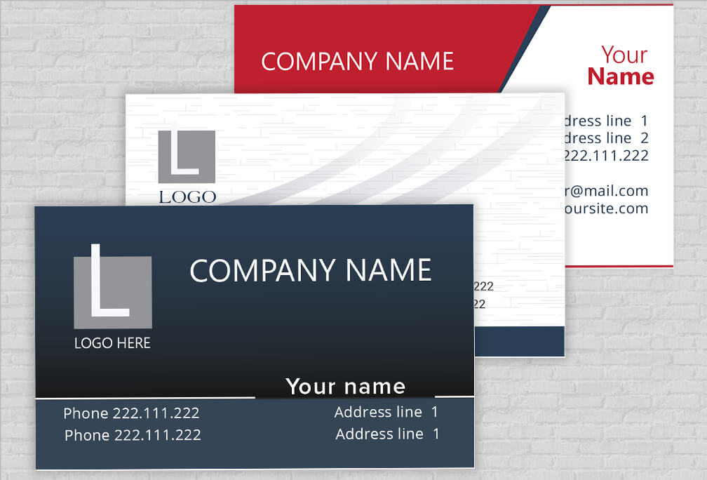 Custom made business card prints onlinetemplates editor how we make business cards flashek Gallery