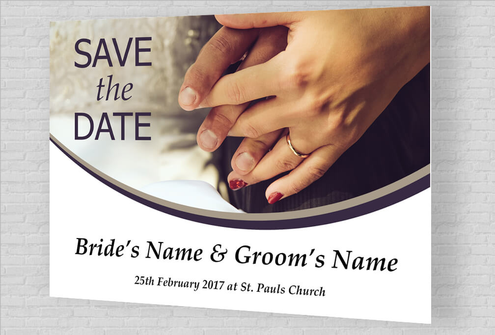 Custom Save The Date Cards Printed Online Design Editor