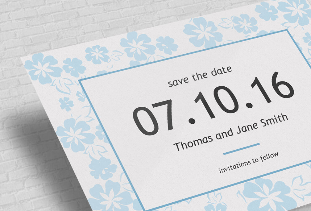Custom Save The Date Cards Printed Online Design Editor - Make your own save the date cards templates