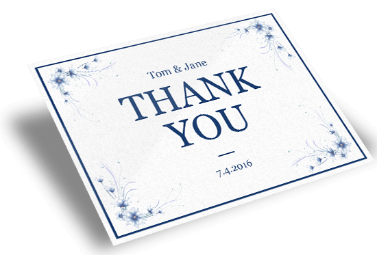custom printed thank you cards online for all occasions